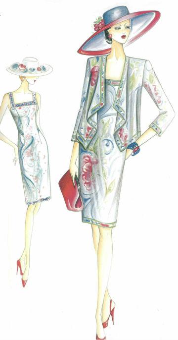 платье приталенное с жакетом кардиганом сшить в самаре
