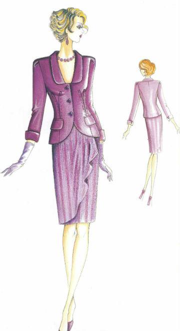 женский комплект из костюмной ткани сшить на заказ в самаре