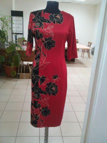 платье фламенко