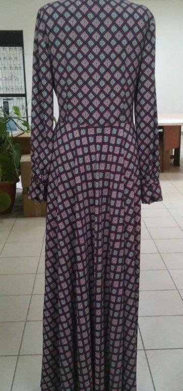 платье в клетку-индивидуальный пошив